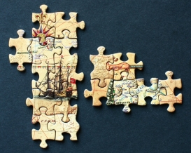 Piecing together the world