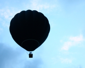 Black balloon 2