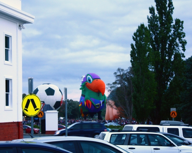 Coloured balloons 1