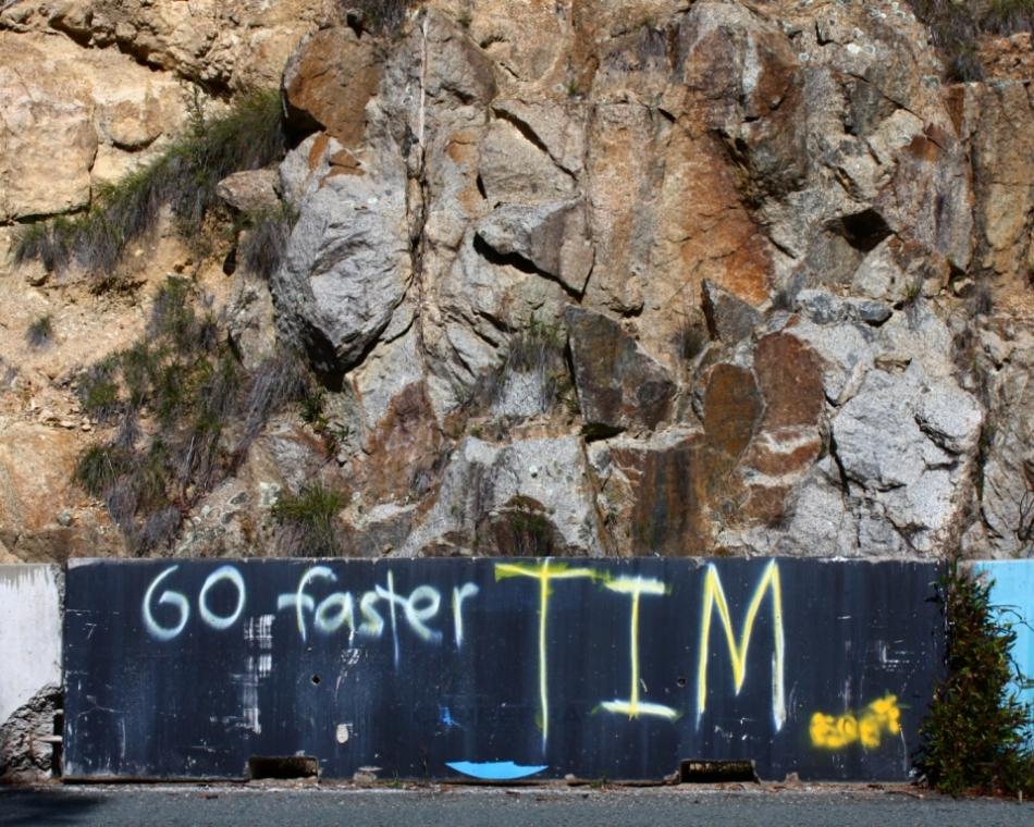 Go Faster Tim at Namadgi