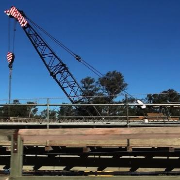 Crossing Holman Bridge Jun 2014 3