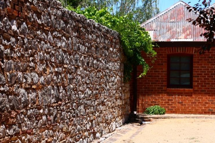 Cobb & Co wall, dating back to 1875, at Molong