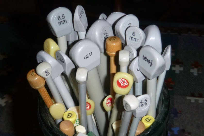 Knitting needles - old and new