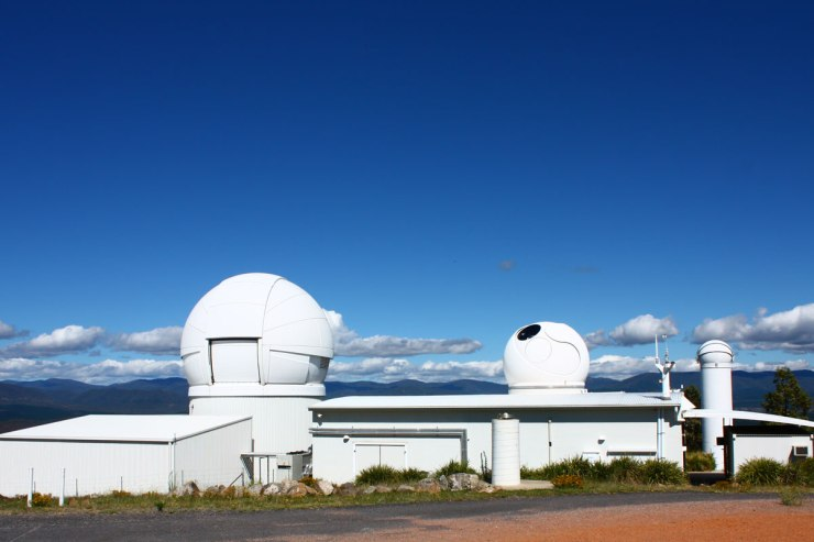 Mt Stromlo - New Laser Telescope