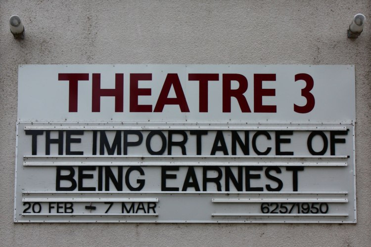 Rep Theatre Sign