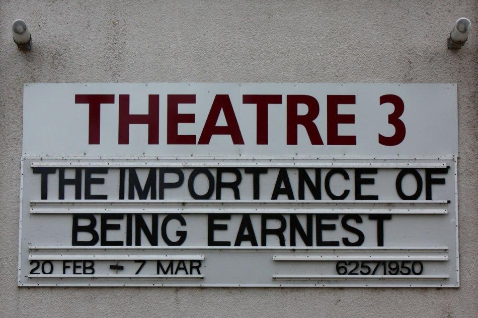 Rep Theatre Sign