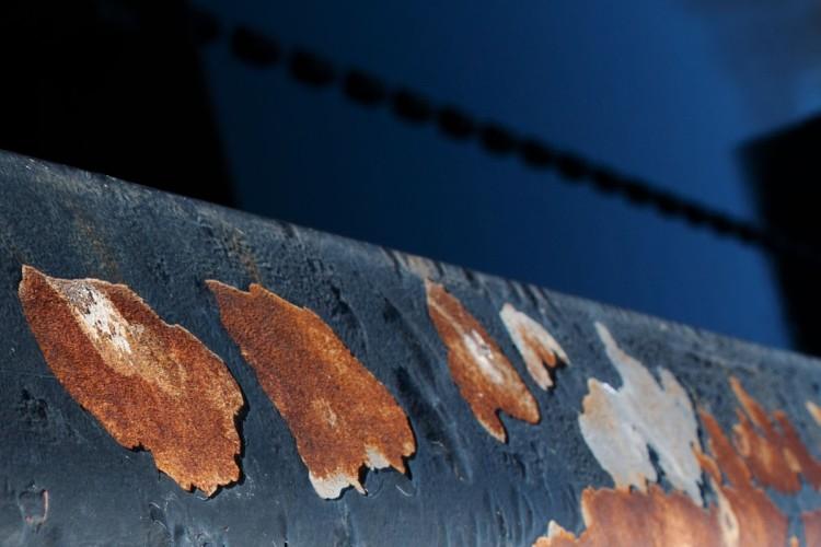 Scrivener Dam Hand Rail