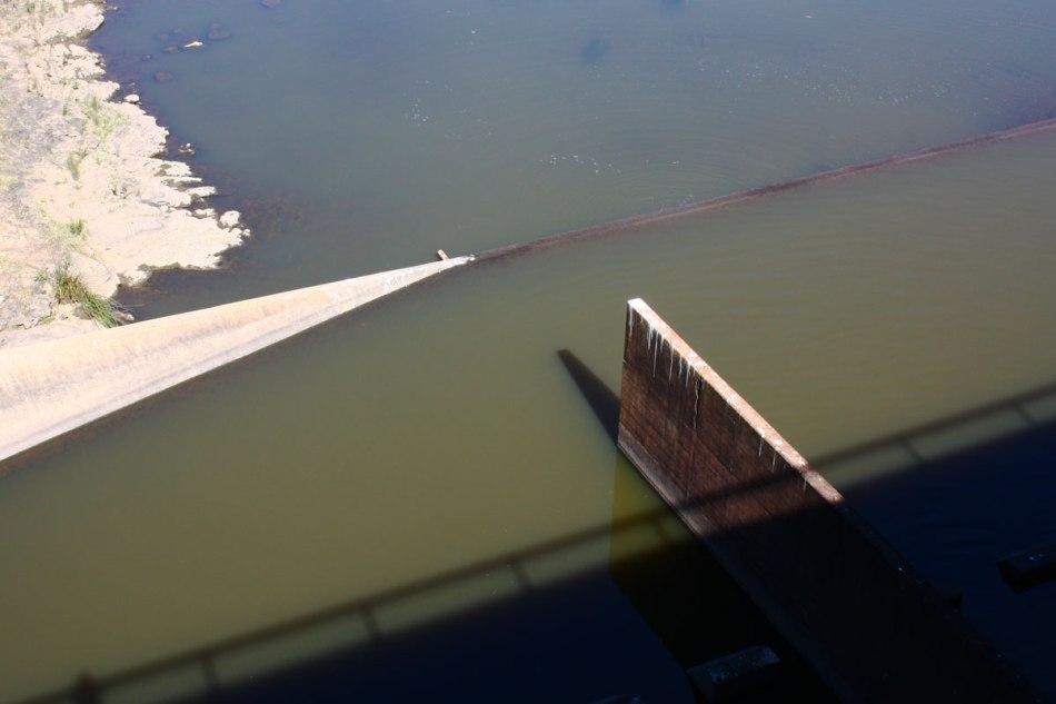 Scrivener Dam Overflow Pond
