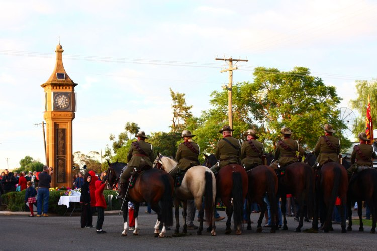 Anzac Day 2015 - After the service 2