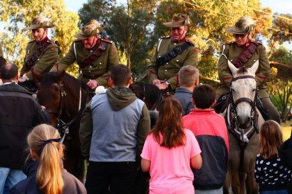Anzac Day 2015 - After the service 3