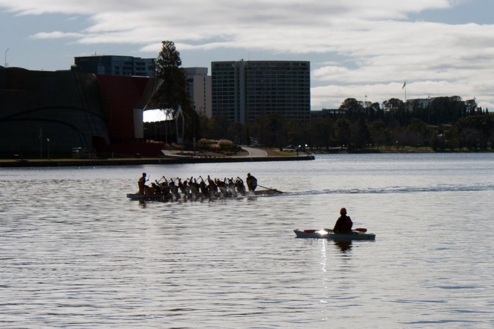Dragonboat and Kayak