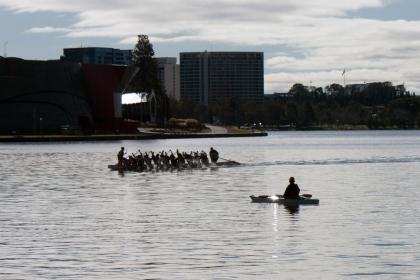 Dragonboat and Kayak