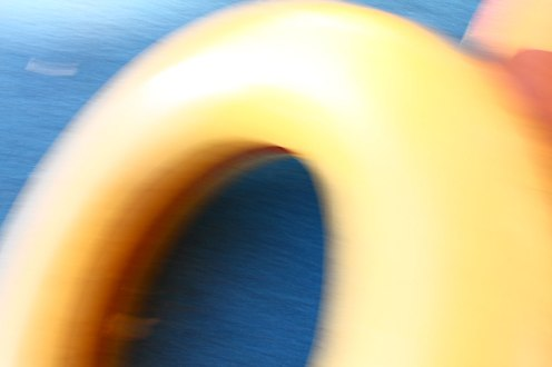 Orange and Yellow Circles 5