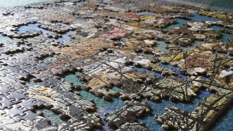 Cold Weather Escape in a Jigsaw