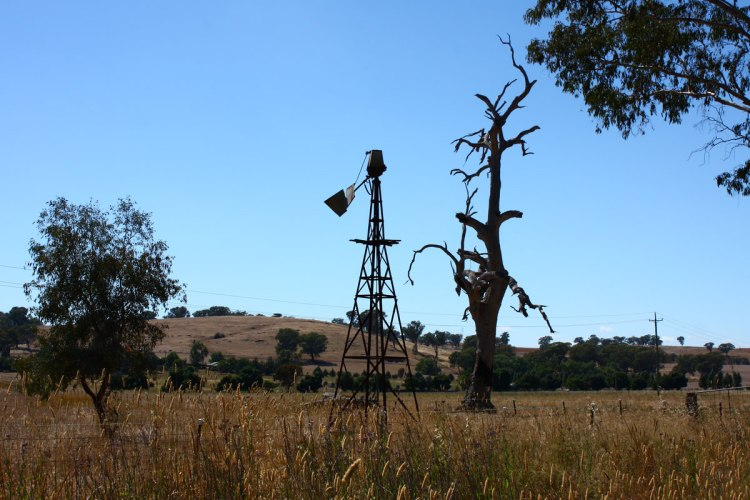 Broken Windmill, Boorowa Road NSW