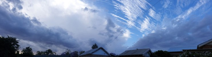 Panorama Metcalfe Street Sky 21 Nov
